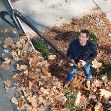Blowing debris from your gutters makes a big mess for you to clean up