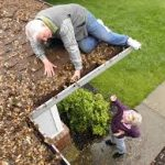 Don't risk your safety to clean your gutters...