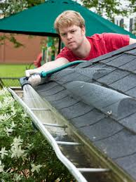 Spraying debris from gutters is time consuming, and WASTES PRECIOUS WATER!